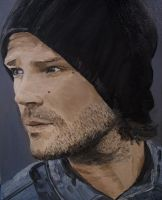 Jared  Padalecki Oil Painting by hsr62