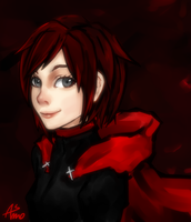 RWBY-Ruby Rose by Asmo-dA