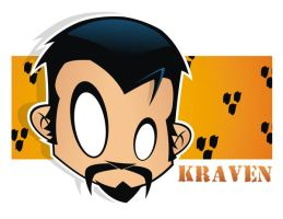 Heads Up Kraven the Hunter by HeadsUpStudios