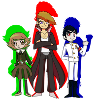 Dangan Ronpa -- SHSL OT3 by StarXrossed