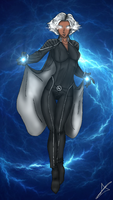 Storm - X-Men by AndsportsART