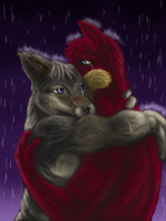 Let the rain make your tears by Evilsquirrel