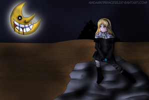 Moonscape by AnDarkPrincess