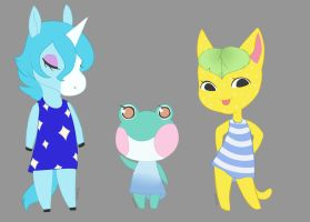 Animal Crossing Villagers 2 by Feylura