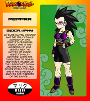 Peppra Bio Card by MalikStudios