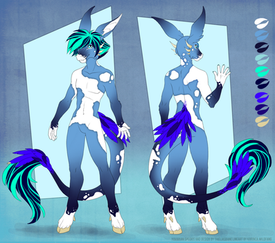 #014 - Male - Water - FORSALE by Taielias-Bane