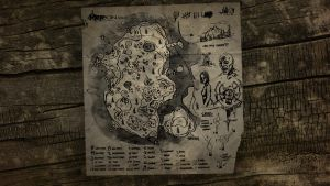The Forest Map Wallpaper 5 by manbearpagan