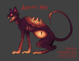 AUCTION OPEN - MAGMUS by Wolf-Daemon