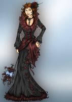 Belle of the Vampire's Ball by ZoeStead