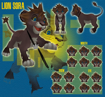Lion Sora - DOWNLOAD by MMDFakewings18