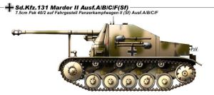Sd Kfz 131 Marder II Ausf A by nicksikh