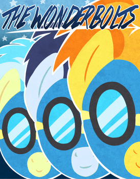 The Wonderbolts! by SorcerusHorserus