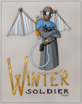 Winter Soldier - Colored by Vicingus