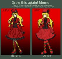 MEME: Before and After by Shinigami-Mero-Chan