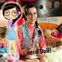 KatyPerry nerd Doll png by monxita244