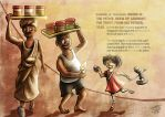 Kacang Puteh story - Spread 1 by JemiDove