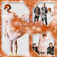 PHOTOPACK PNG- Paramore by CAMI-CURLES-EDITIONS