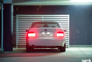 BMW 318i E36 Rear by small-sk8er