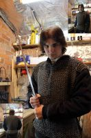 My First Chainmail Armor by ToxTheErisian
