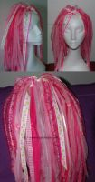 large Pink dolly falls by GrotesquePuPPyMeow