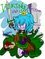 Viking Princess [REDRAWN] by daredevil48