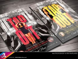 Tap Out Party Flyer Template by AnotherBcreation