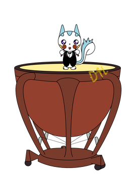 Pachirisu on the Drum! (For Charity Collab) by Dance4life628