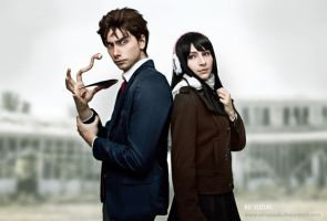 Parasyte the Maxim - Struggle by Rei-Suzuki