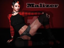 Malizer - Pin Up by Aral3D