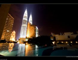 Lighted Reflection by Lasu