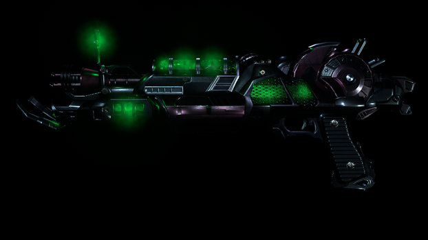 The Ray Gun MK2 by Z0mbie1337