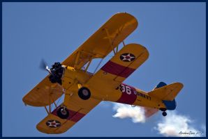 Stearman Airfest 2012 by AirshowDave