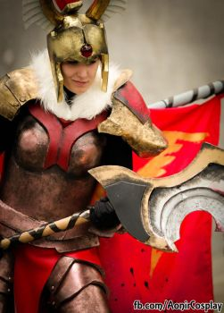 Legion Commander Cosplay by Ao-nir