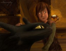 Show Me Your Dragon: (HTTYD2 webnovel ch8) by inhonoredglory