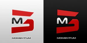 Momentum Logo by Momillo