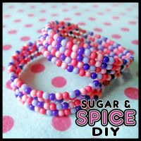 Cheshire Cat Bubble KANDi KUFFS by SugarAndSpiceDIY