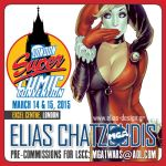 London Super Comic con 2015 by Elias-Chatzoudis