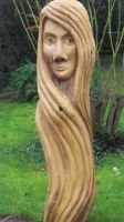 Wood Woman by traficotte