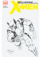 Wolverine sketch cover by GibsonQuarter27