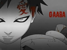 Gaara Wallpaper 2 by Puffypaw