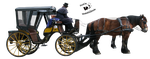 Cut-out stock PNG 19 - carriage by Momotte2stocks