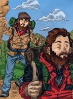 Mountain men by The--Woodsman