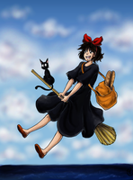 Kiki's Flying Delivery Service by TriaElf9