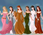 Greek Goddesses by javagirl98