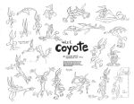 Wile E. Coyote Model Sheet Ver. 4 by guibor