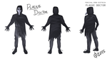 Plague Doctor (Percival Dietrich) Reference Sheet by MajorZeroGravity