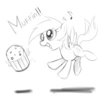 Derpy and Muffin by Doggie999