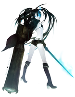 Black Rock Shooter by Memipong