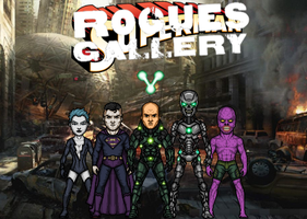 Superman's Rogues Gallery (New Earth) by Nova20X