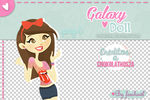Galaxy doll :D by freshowl